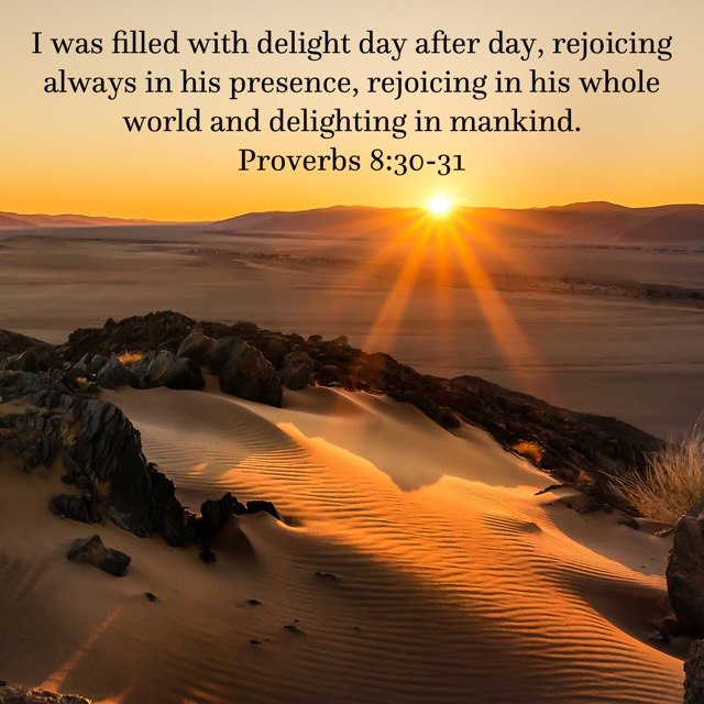 Rejoicing in the World